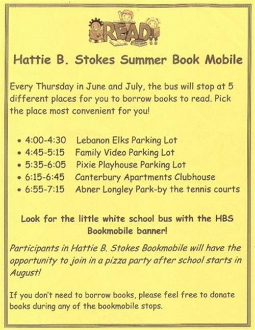 Summer Book Mobile!